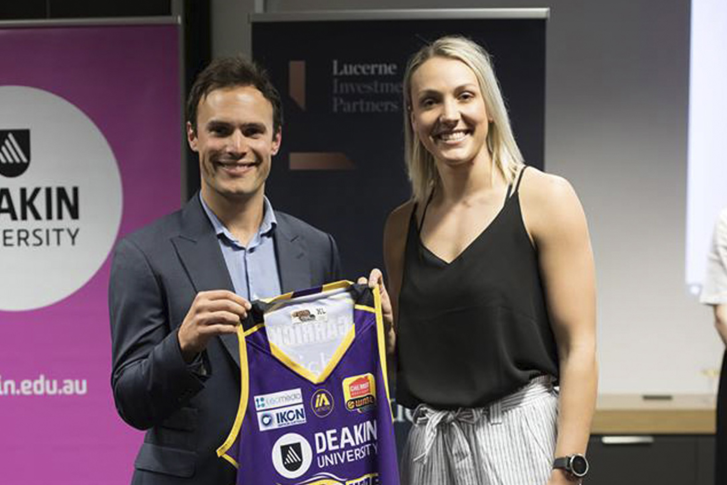 Supporting women in sport with our civic partnership with the Melbourne Boomers