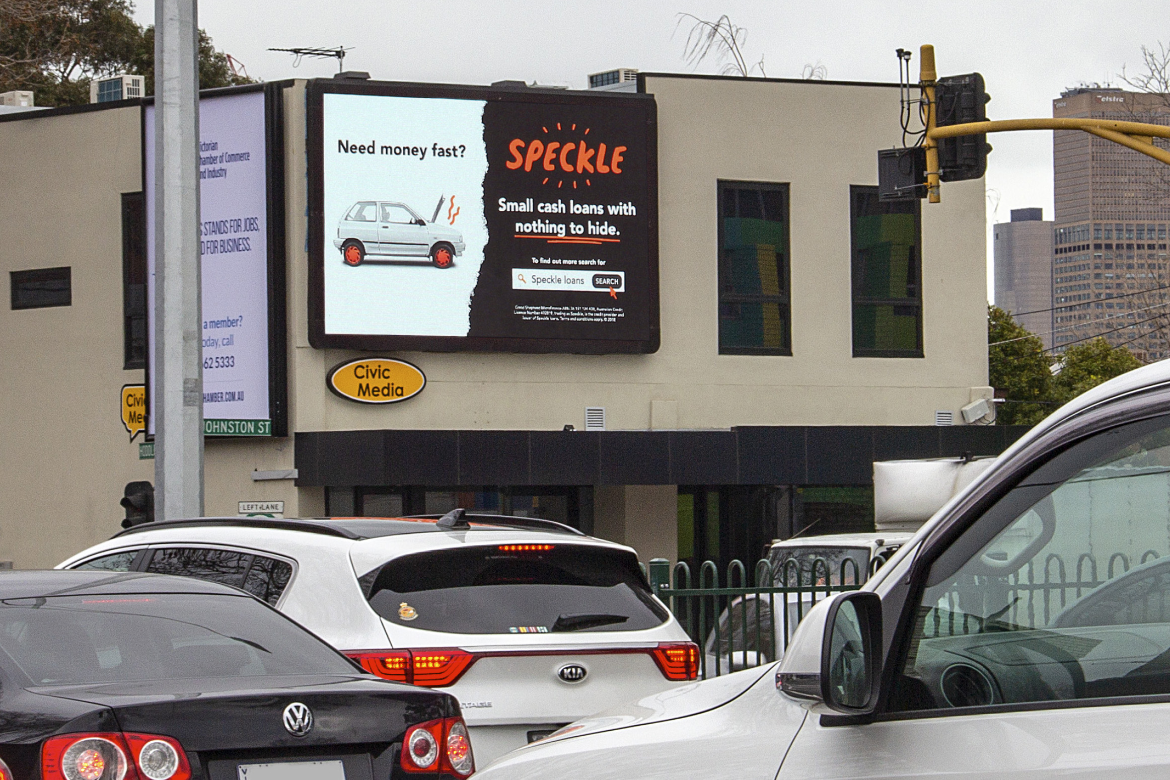 Digital Billboards Throughout Melbourne