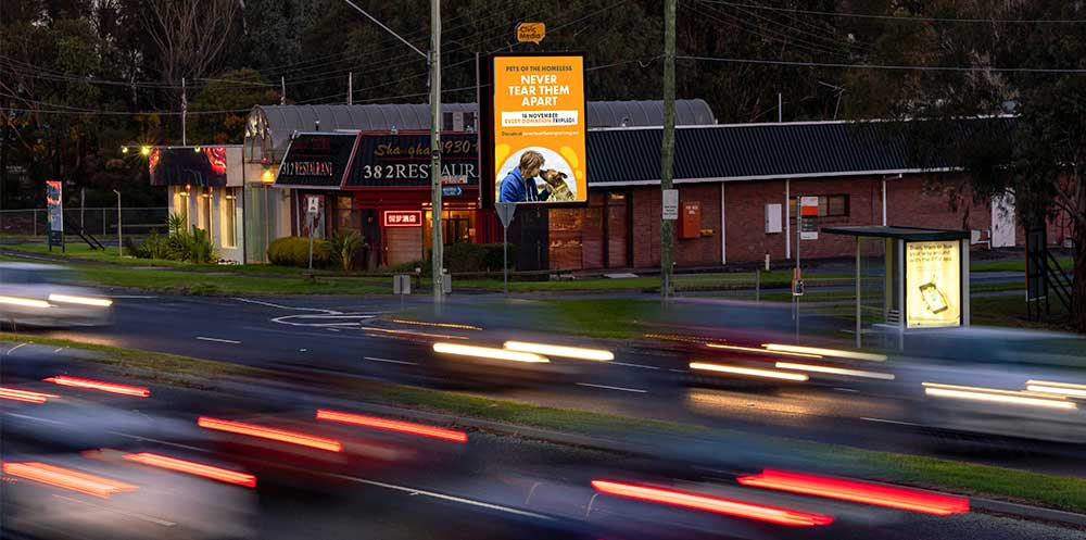 Civic Outdoor supports Never Tear Them Apart Campaign with digital billboards