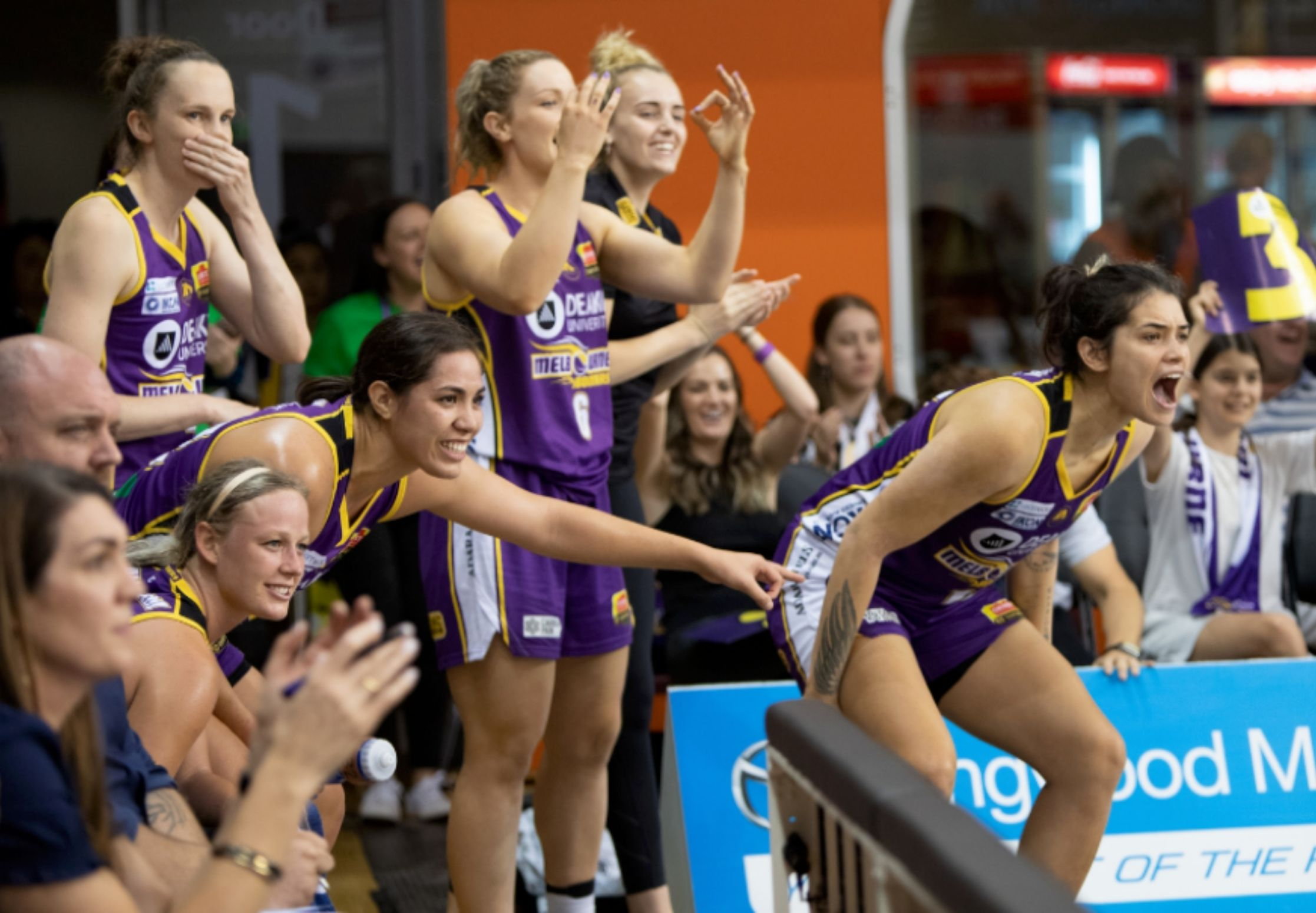 The Melbourne Boomers basketball team are one of our valued Civic partners